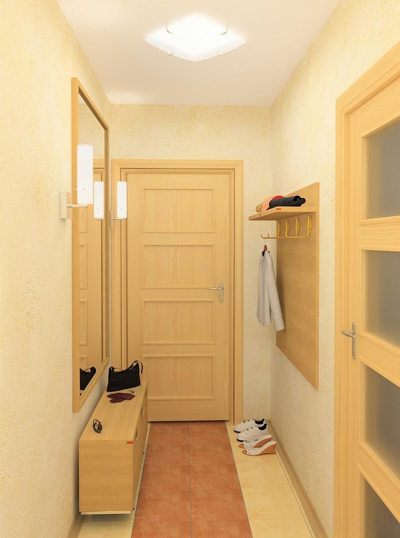 Фото интерьер прихожей в маленькой квартире фото