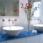 Разновидности умывальников для ванной комнаты