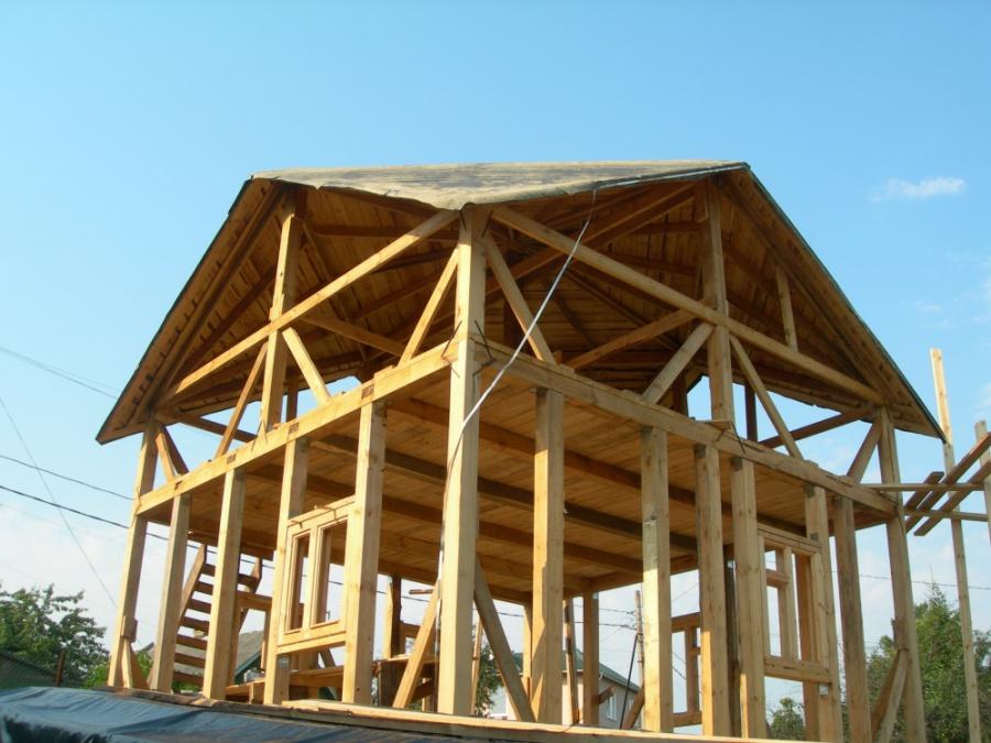 Преимущества деревянных крыш