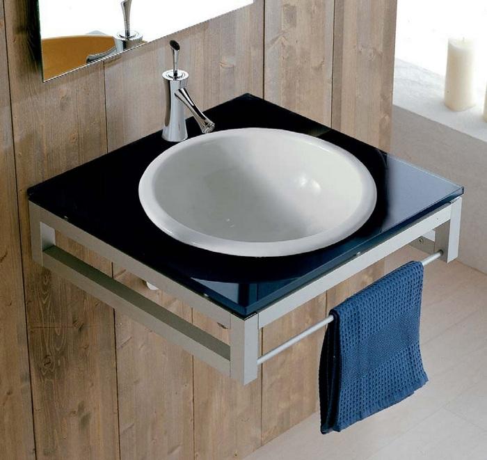 Встроенная раковина для ванной комнаты