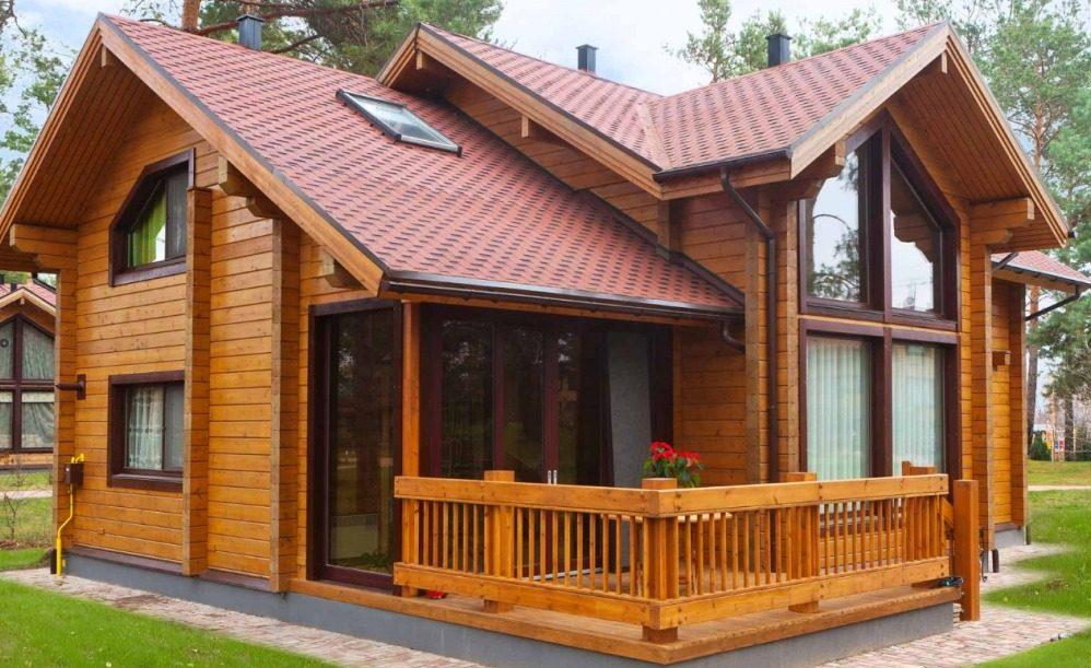 Собственный дом из профилированного бруса