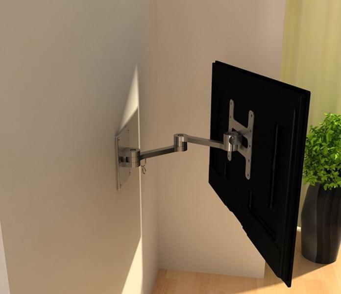 Крепление жк телевизора на стену своими руками 56