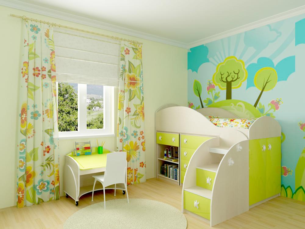 Как выбрать кровать в детскую комнату.