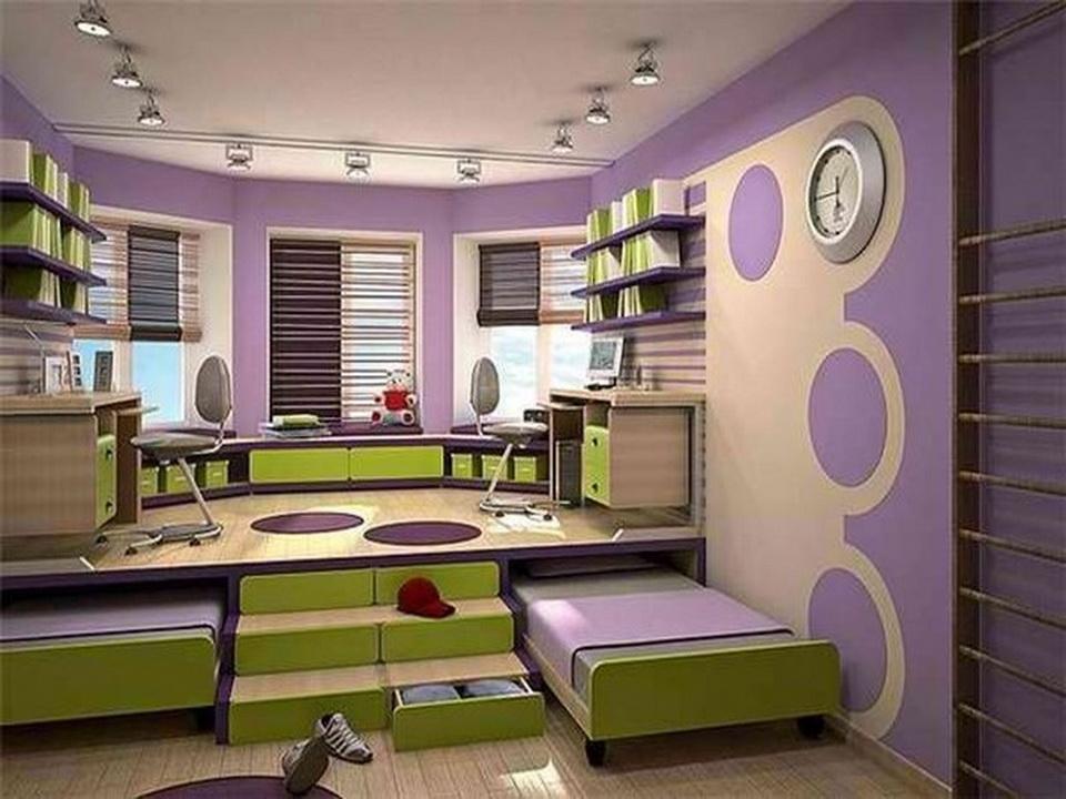 Детская комната для двоих мальчиков своими руками 37