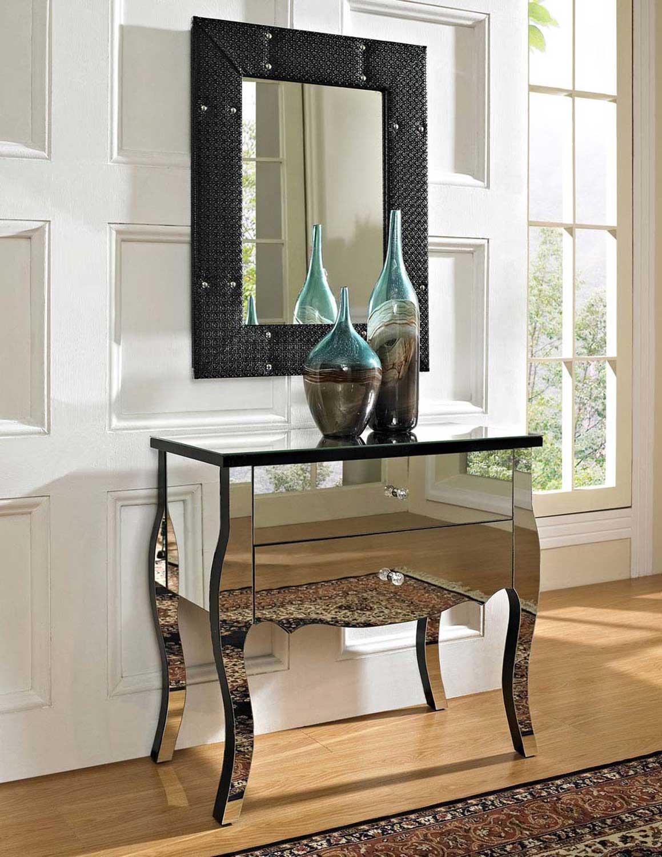 Зеркальная мебель в интерьере