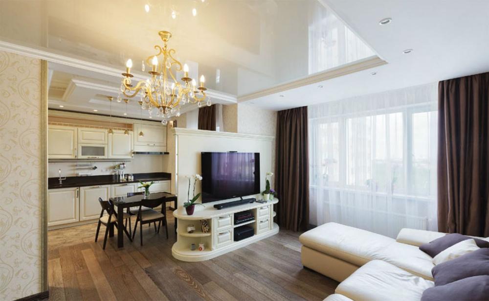 Красивая квартира студия