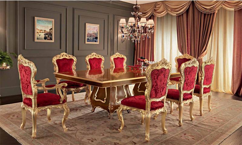 Обеденные стулья в викторианском стиле