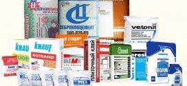 Сухие строительные смеси: особенности применения