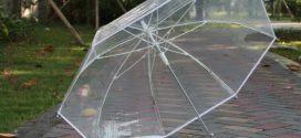 Преимущества прозрачных зонтов