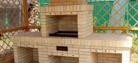 Мангалы и грили из кирпича – функциональный элемент малой садовой архитектуры